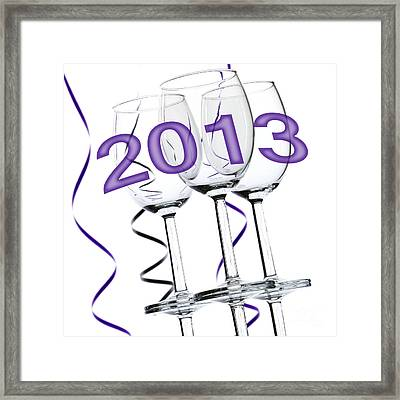 New Year 2013 Framed Print by Blink Images