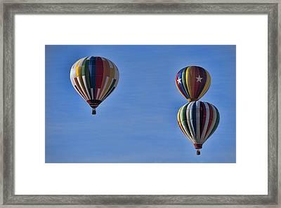 New York State Festival Of Balloons Framed Print by Joe Granita