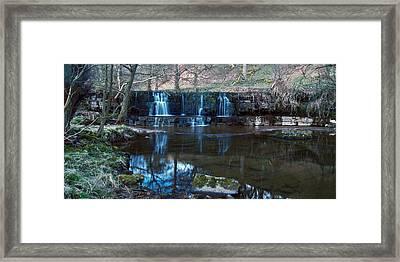 Nidd Falls Framed Print
