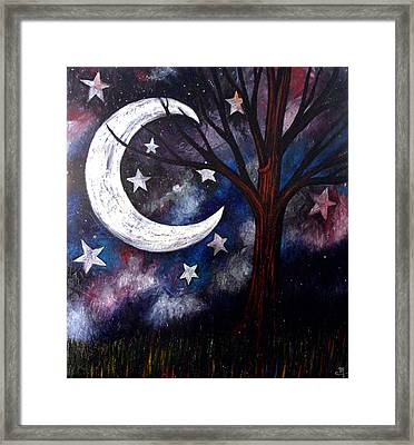 Night Gazing Framed Print