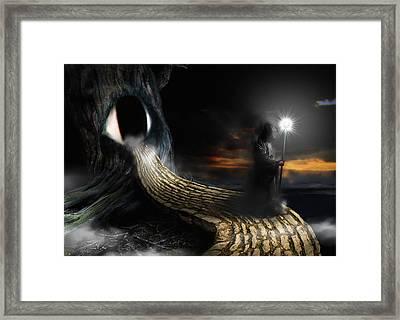 Night Guard Framed Print
