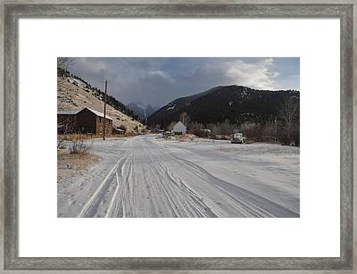 Nirvana Framed Print by Jose Rodriguez-Curras