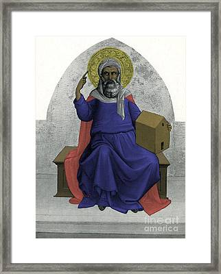 Noah Framed Print by Photo Researchers