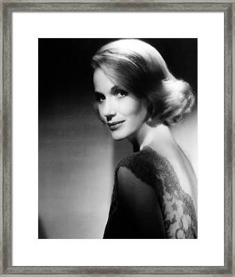 North By Northwest, Eva Marie Saint Framed Print