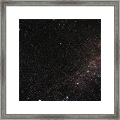 North Celestial Pole Framed Print