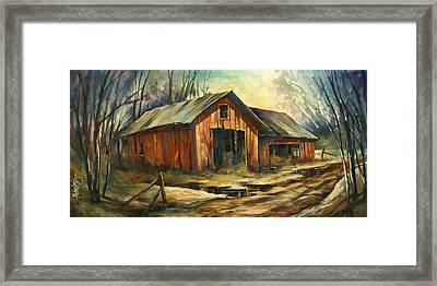 'north Country' Framed Print by Michael Lang