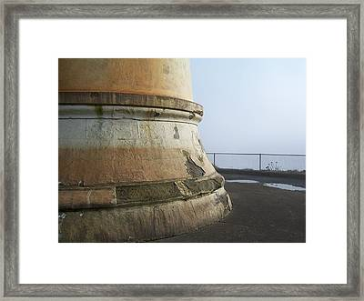 Framed Print featuring the photograph North Head Lighthouse 6 by Peter Mooyman