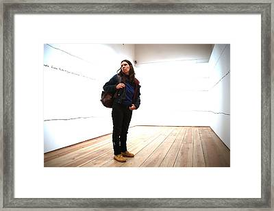 Not Lost Framed Print by Jez C Self