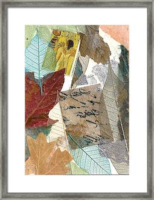 Note From Nature Framed Print
