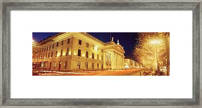 Oconnell Street, Dublin, Ireland Framed Print by The Irish Image Collection