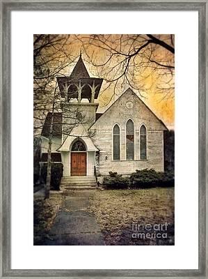 Old Church Framed Print by Jill Battaglia