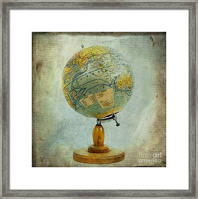 Old Globe Framed Print