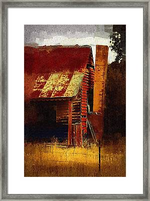 Old House In Australia Framed Print
