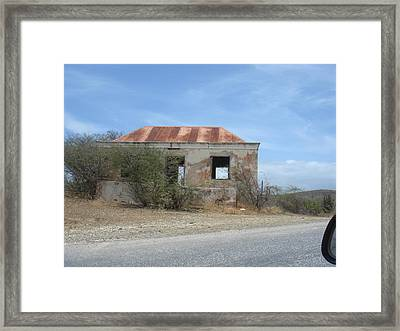 Old House Framed Print by Marlon Scoop