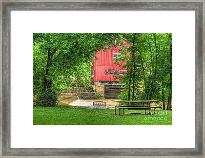 Old Indian Mill Framed Print by Pamela Baker
