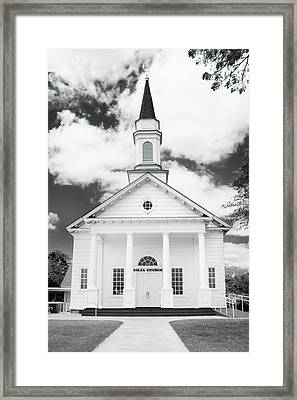 Old Koloa Church Framed Print