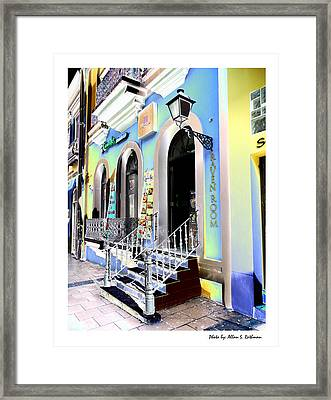 Old San Juan 17 Framed Print