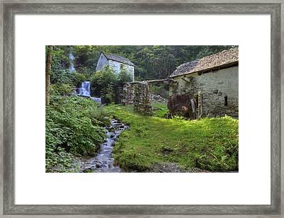 Old Watermill Framed Print by Joana Kruse