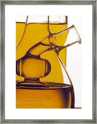 Olive Oil Framed Print by Tony Craddock