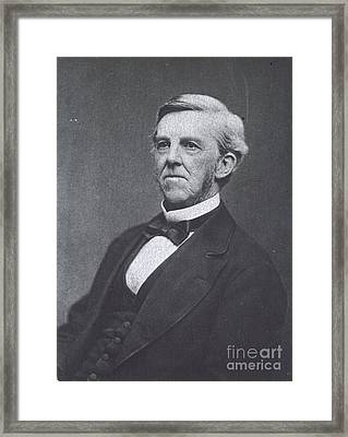Oliver Wendell Holmes, American Framed Print by Science Source