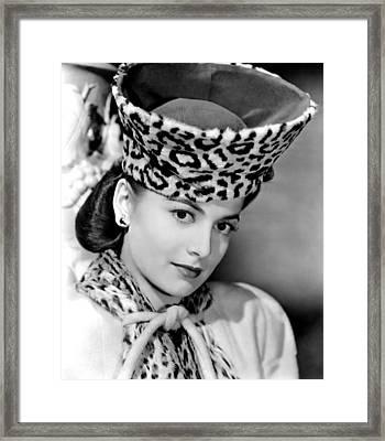 Olivia De Havilland, 1943 Framed Print by Everett