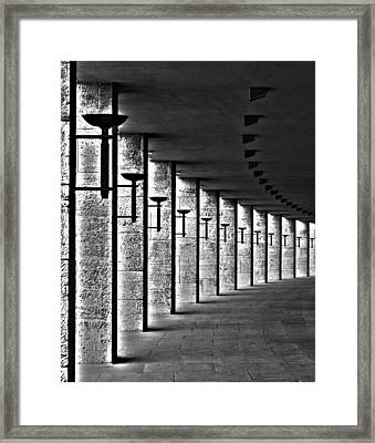 Olympic Stadium Berlin Framed Print