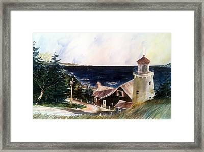 On A Clear Day Framed Print by Don F  Bradford