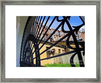 On Street Peterburg Framed Print by Yury Bashkin