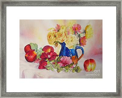 Framed Print featuring the painting Once Upon A Summer by Beatrice Cloake