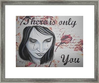 Only You Framed Print by Barbie Guitard