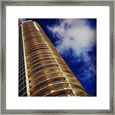 Opera Tower - Miami Framed Print