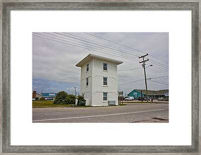 Operation Bumblebee Control Tower Framed Print