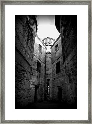Oppression Framed Print by Richard Reeve