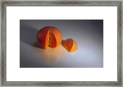Orange Framed Print by Svetlana Sewell