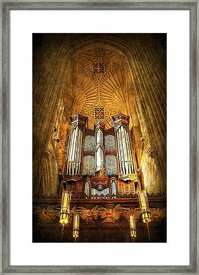 Organ Framed Print by Svetlana Sewell