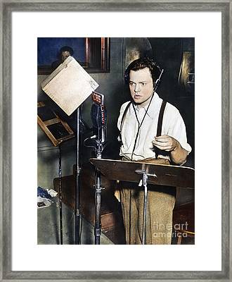 Orson Welles (1915-1985) Framed Print by Granger