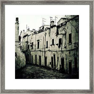 Ostuni - Apulia Framed Print by Joana Kruse