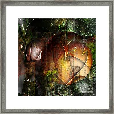 Other World Framed Print by Monroe Snook