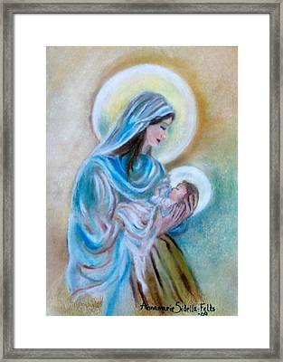 Our Mary's Love Framed Print