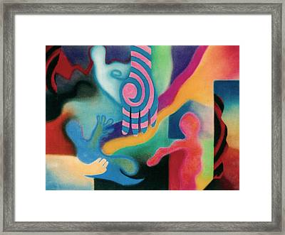 Outreach Framed Print by Christine Perry