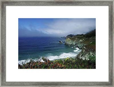 Framed Print featuring the photograph Pacific Coast by Renee Hardison