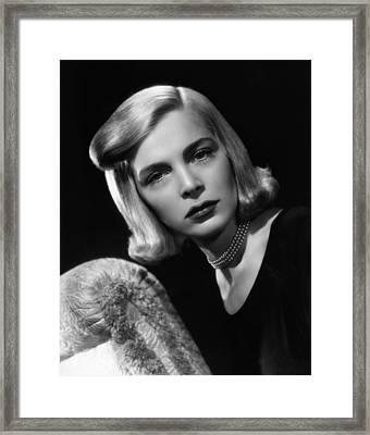 Paid In Full, Lizabeth Scott, 1950 Framed Print by Everett