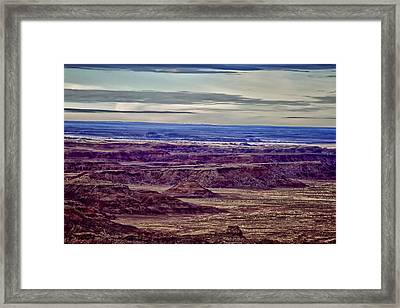 Painted Valley 2 Framed Print by Dennis Sullivan