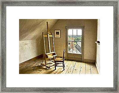 Painters Loft Framed Print by Gordon Ripley