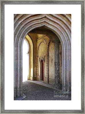Palace Arch Framed Print