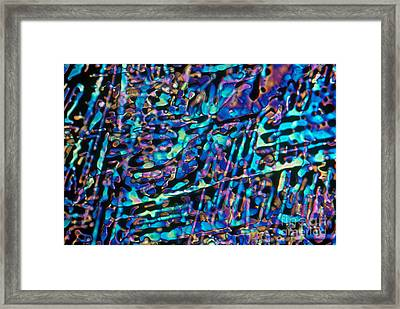Paradichlorobenzene Crystals Framed Print by Michael Abbey and Photo Researchers