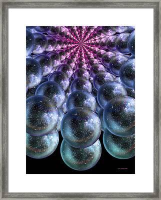 Parallel Universes Framed Print