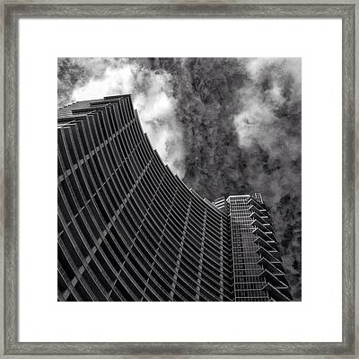 Paramount Bay - Miami Framed Print by Joel Lopez