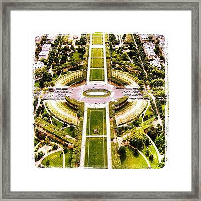 Paris Framed Print by Luisa Azzolini