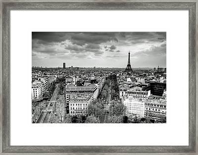 Paris No. 1  Framed Print by Ryan Wyckoff